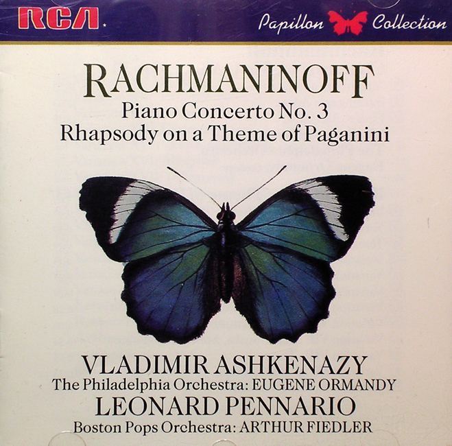 Leonard Pennario Rachmaninoff Rhapsody On A Theme Of